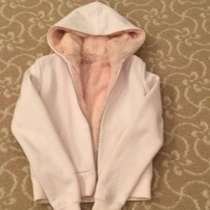 Vintage Juicy Couture Pink Rabbit Lined Hoodie S